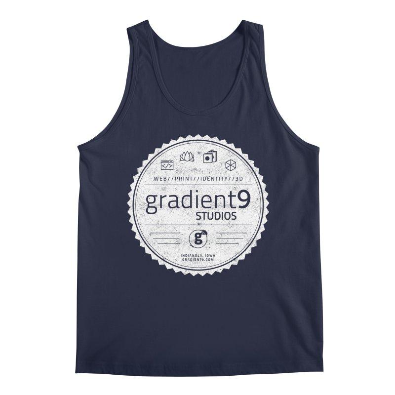 Gradient9 Badge Men's Regular Tank by Gradient9 Studios Threadless Store