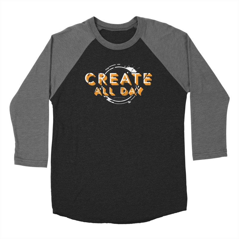 Create All Day Women's Longsleeve T-Shirt by Gradient9 Studios Threadless Store