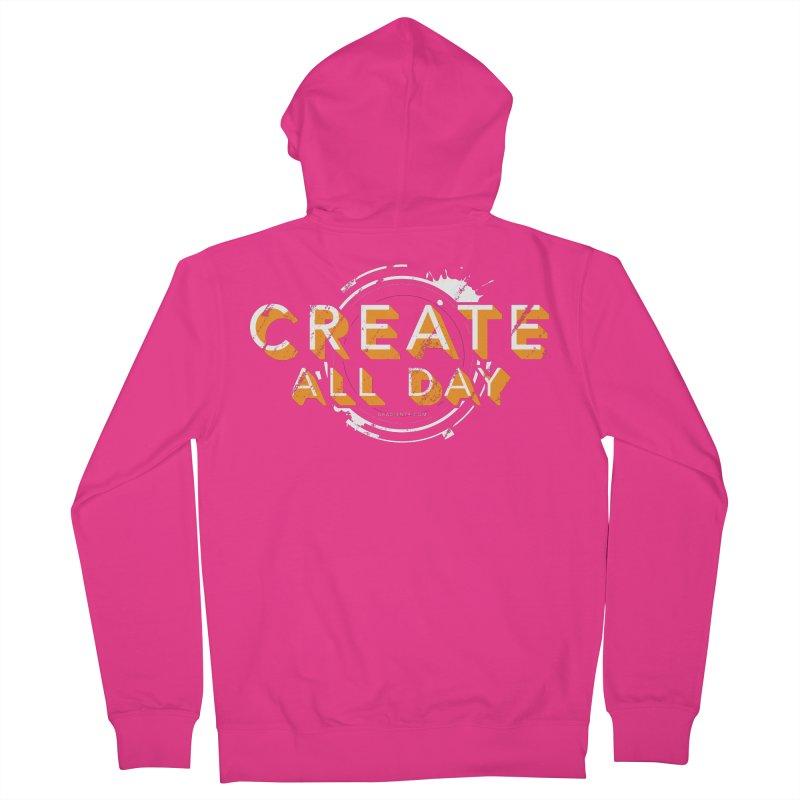 Create All Day Men's Zip-Up Hoody by Gradient9 Studios Threadless Store