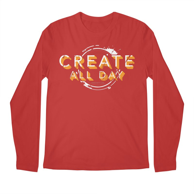 Create All Day Men's Regular Longsleeve T-Shirt by Gradient9 Studios Threadless Store