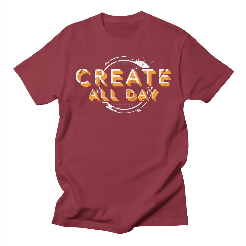 Create All Day Men's T-Shirt by Gradient9 Studios Threadless Store