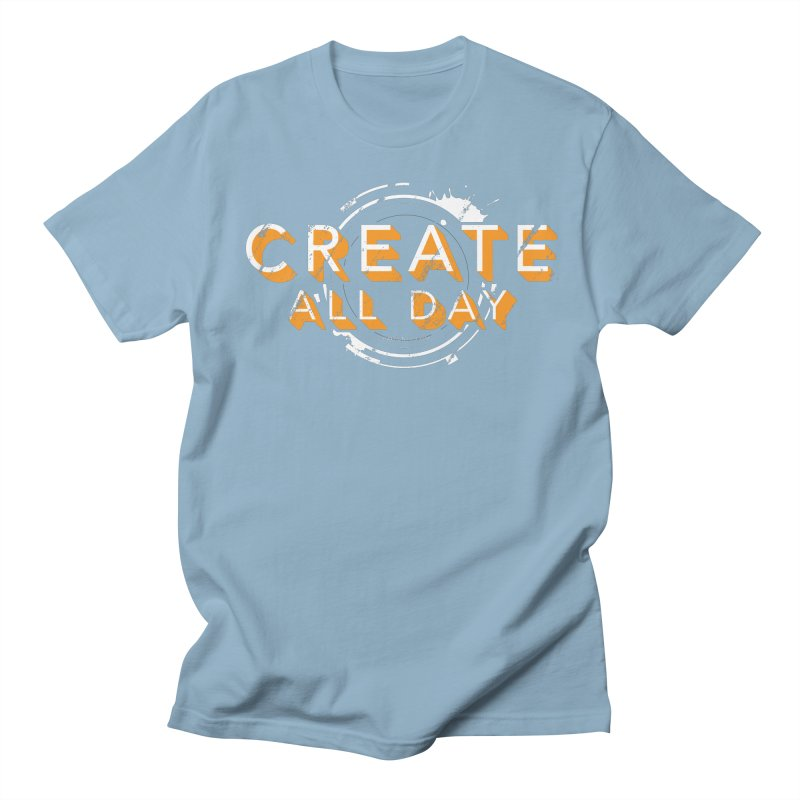 Create All Day Men's Regular T-Shirt by Gradient9 Studios Threadless Store