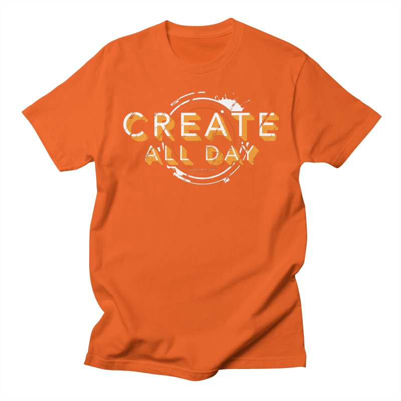 Create All Day Men's Regular T-Shirt by Gradient9 Studios Threadless Store