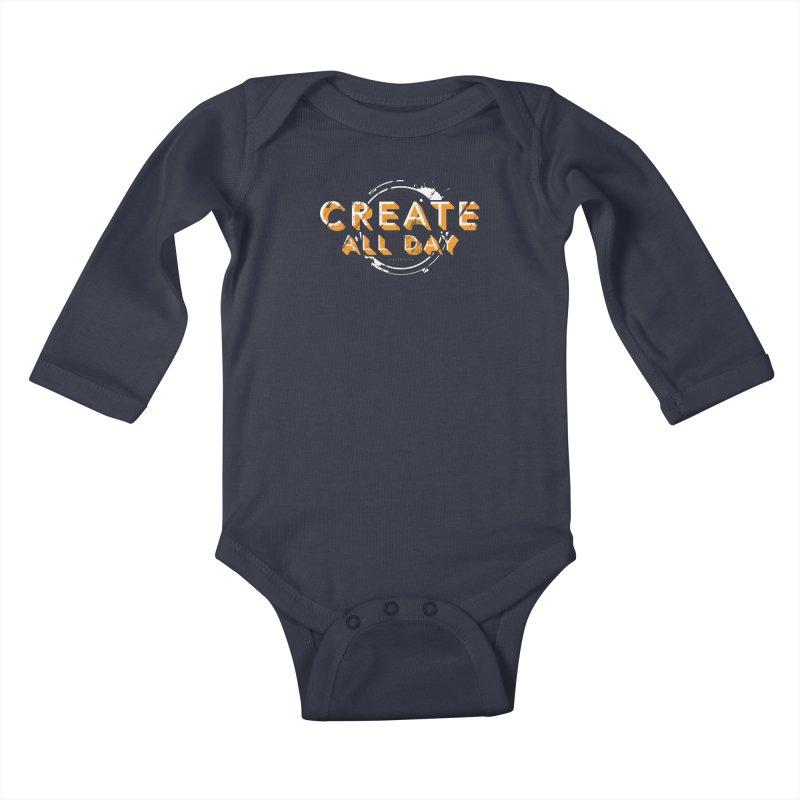 Create All Day Kids Baby Longsleeve Bodysuit by Gradient9 Studios Threadless Store