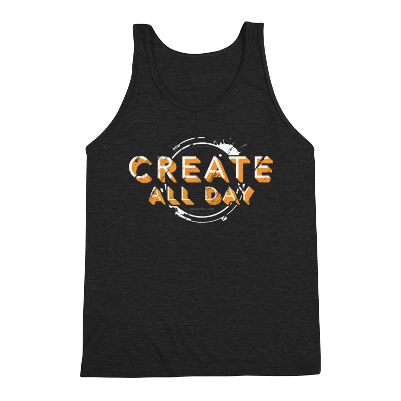 Create All Day Men's Tank by Gradient9 Studios Threadless Store