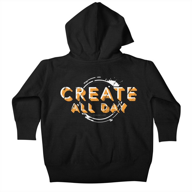 Create All Day Kids Baby Zip-Up Hoody by Gradient9 Studios Threadless Store