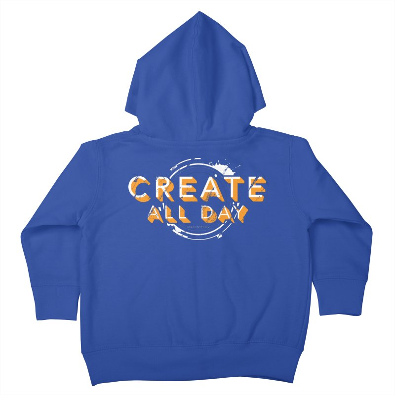 Create All Day Kids Toddler Zip-Up Hoody by Gradient9 Studios Threadless Store