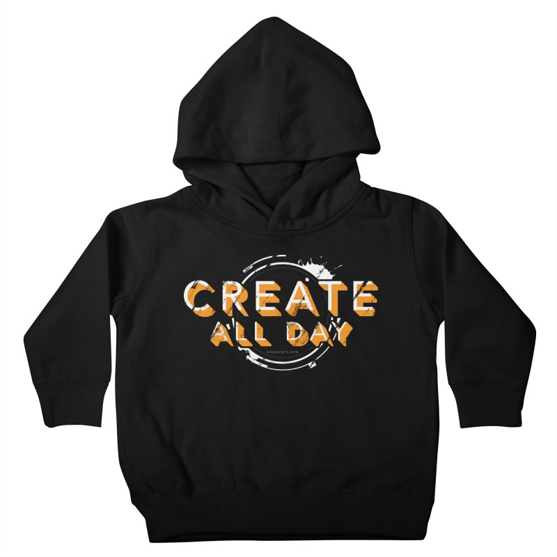 Create All Day Kids Toddler Pullover Hoody by Gradient9 Studios Threadless Store