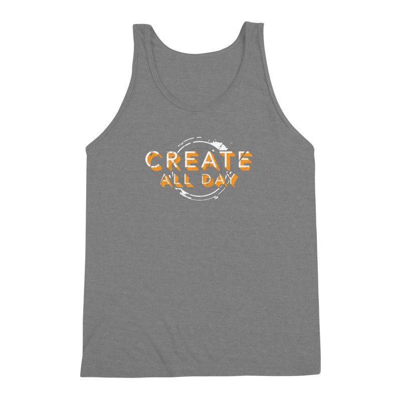 Create All Day Men's Triblend Tank by Gradient9 Studios Threadless Store