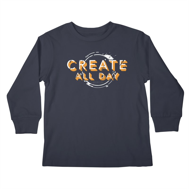 Create All Day Kids Longsleeve T-Shirt by Gradient9 Studios Threadless Store