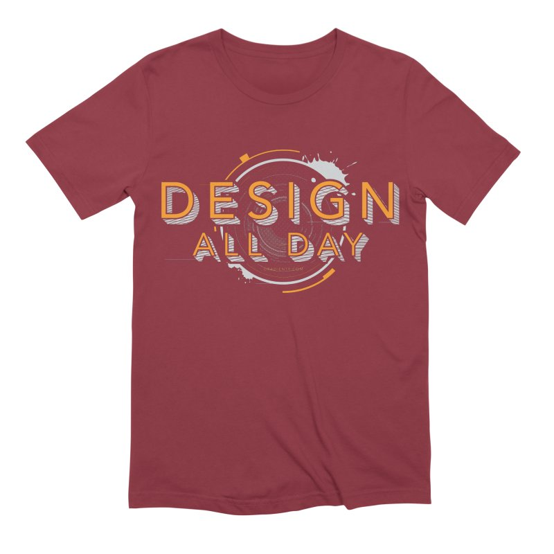 Design All Day Men's Extra Soft T-Shirt by Gradient9 Studios Threadless Store
