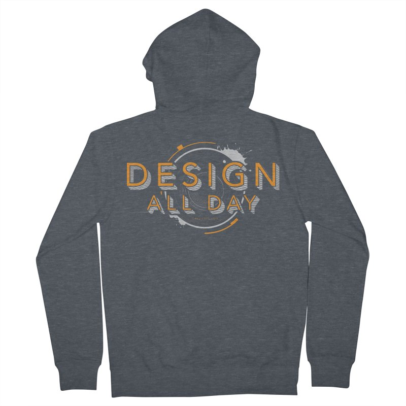 Design All Day Women's French Terry Zip-Up Hoody by Gradient9 Studios Threadless Store