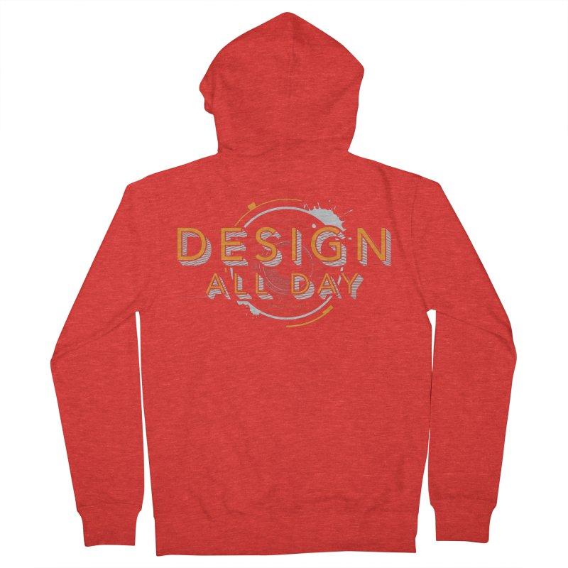 Design All Day Men's Zip-Up Hoody by Gradient9 Studios Threadless Store