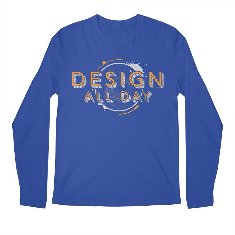 Design All Day Men's Regular Longsleeve T-Shirt by Gradient9 Studios Threadless Store