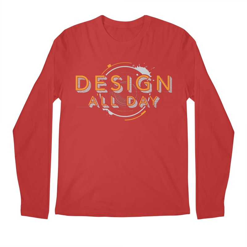 Design All Day Men's Regular Longsleeve T-Shirt by Gradient9 Studios Threadless Store