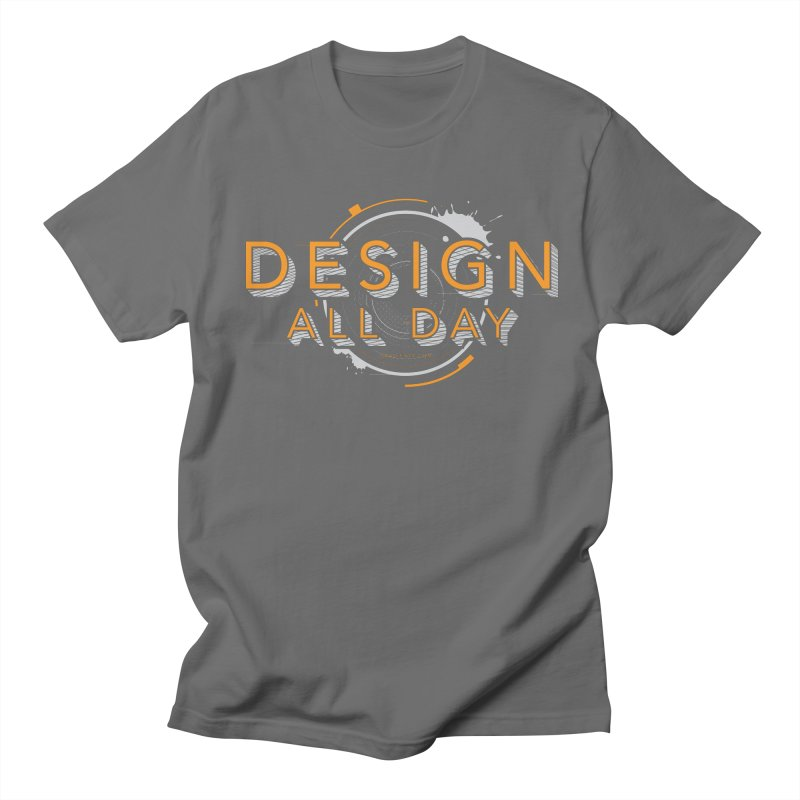 Design All Day Men's Regular T-Shirt by Gradient9 Studios Threadless Store