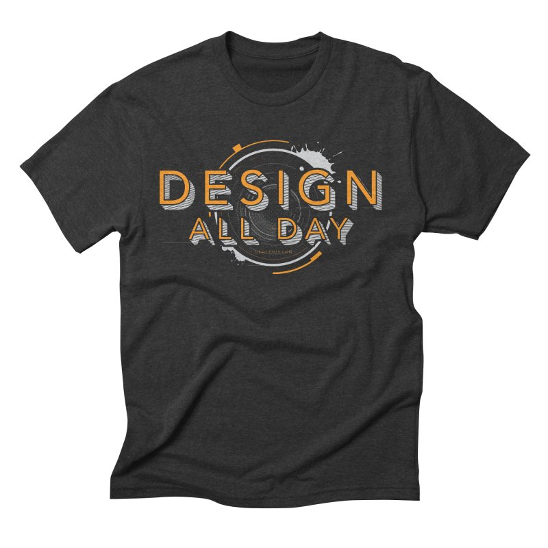 Design All Day Men's T-Shirt by Gradient9 Studios Threadless Store