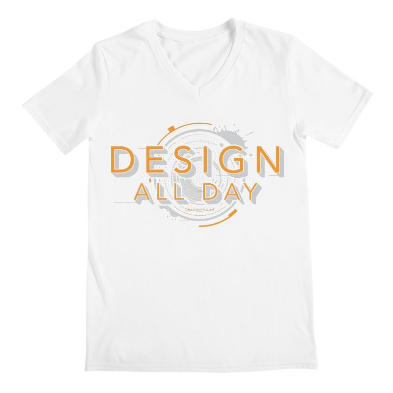 Design All Day Men's V-Neck by Gradient9 Studios Threadless Store