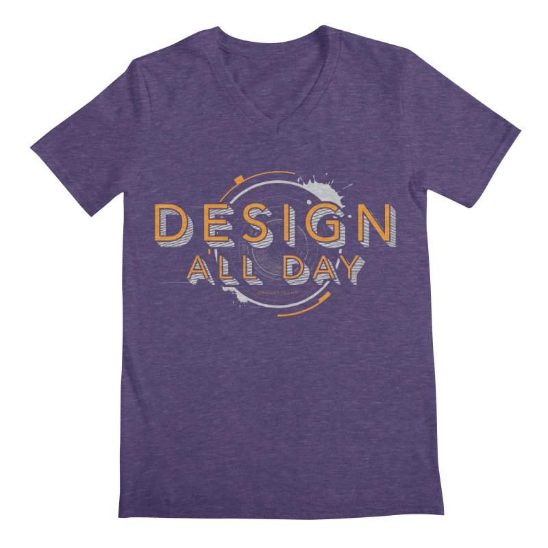 Design All Day Men's Regular V-Neck by Gradient9 Studios Threadless Store