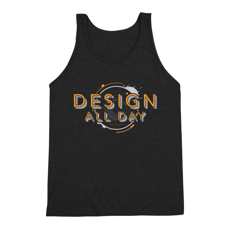 Design All Day Men's Tank by Gradient9 Studios Threadless Store
