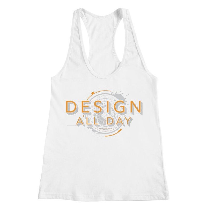 Design All Day Women's Racerback Tank by Gradient9 Studios Threadless Store