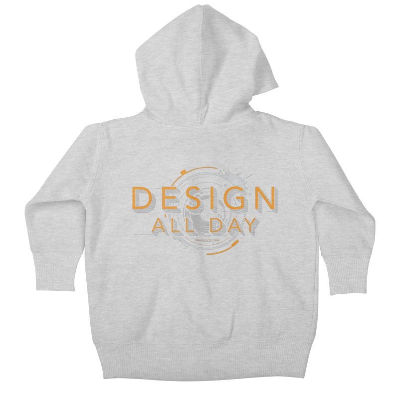 Design All Day Kids Baby Zip-Up Hoody by Gradient9 Studios Threadless Store