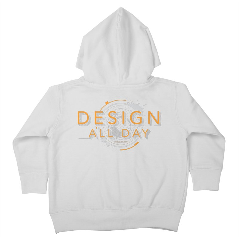 Design All Day Kids Toddler Zip-Up Hoody by Gradient9 Studios Threadless Store