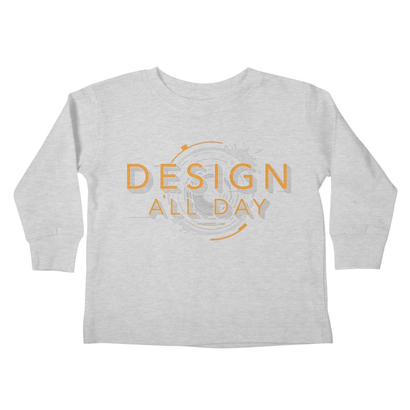 Design All Day Kids Toddler Longsleeve T-Shirt by Gradient9 Studios Threadless Store