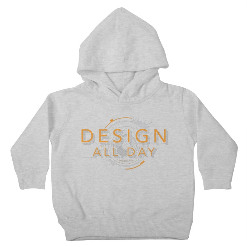 Design All Day Kids Toddler Pullover Hoody by Gradient9 Studios Threadless Store