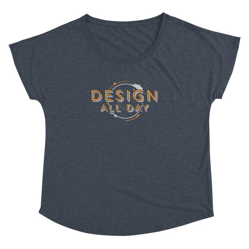 Design All Day Women's Dolman Scoop Neck by Gradient9 Studios Threadless Store