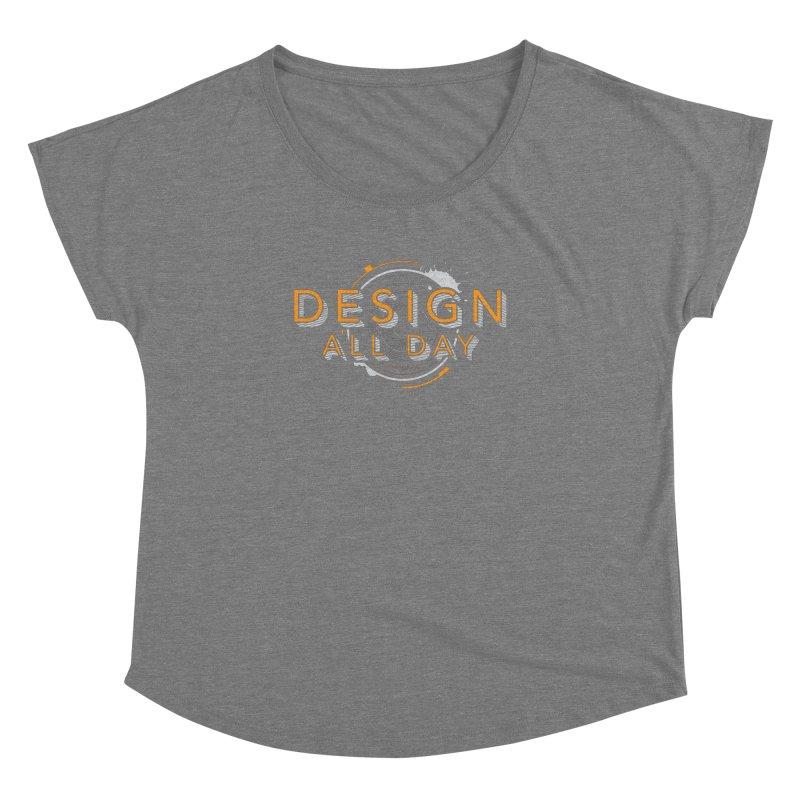 Design All Day Women's Scoop Neck by Gradient9 Studios Threadless Store