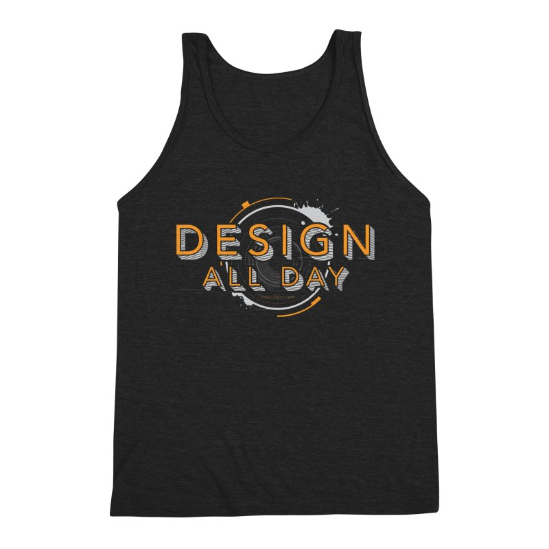Design All Day Men's Triblend Tank by Gradient9 Studios Threadless Store