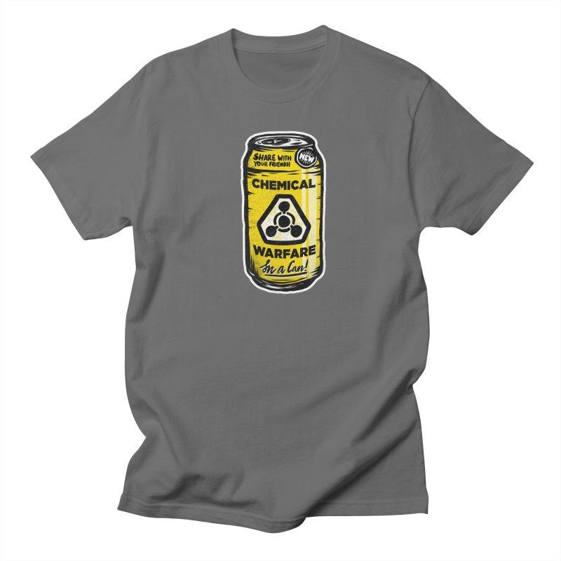 Chemical Warfare  Men's Regular T-Shirt by Graeme Voigt