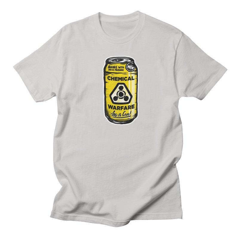Chemical Warfare  Men's T-Shirt by Graeme Voigt