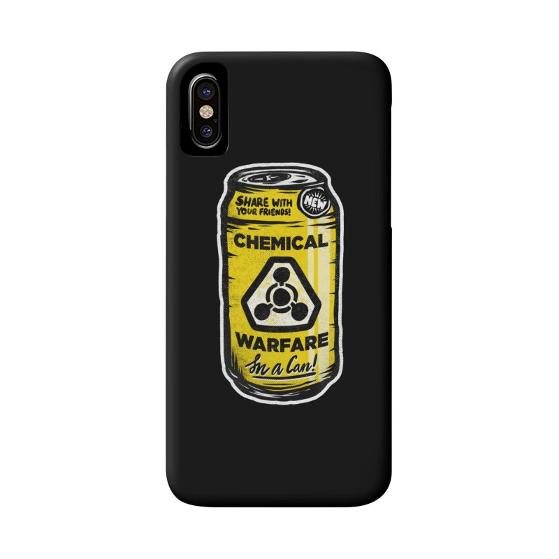 Chemical Warfare  Accessories Phone Case by Graeme Voigt