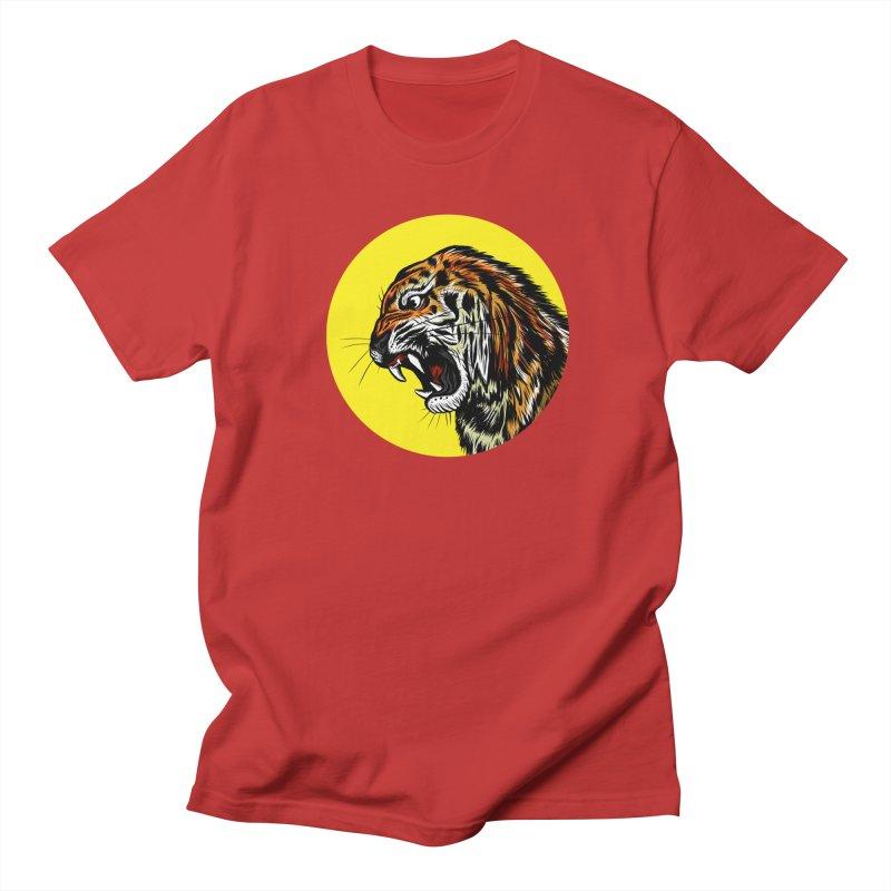 Ghost Tiger Men's T-shirt by Graeme Voigt