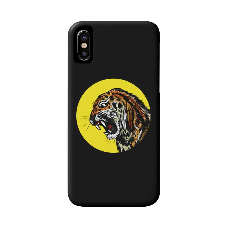 Ghost Tiger Accessories Phone Case by Graeme Voigt