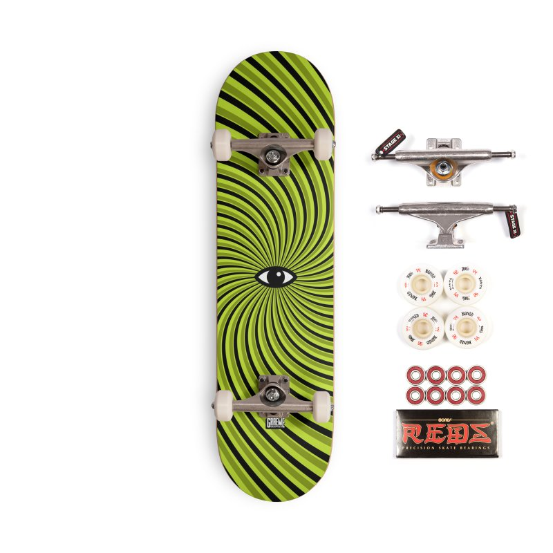 Tired Accessories Complete - Pro Skateboard by Graeme Voigt
