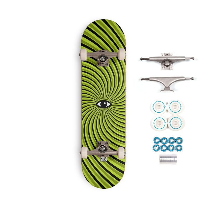 Tired Accessories Complete - Basic Skateboard by Graeme Voigt