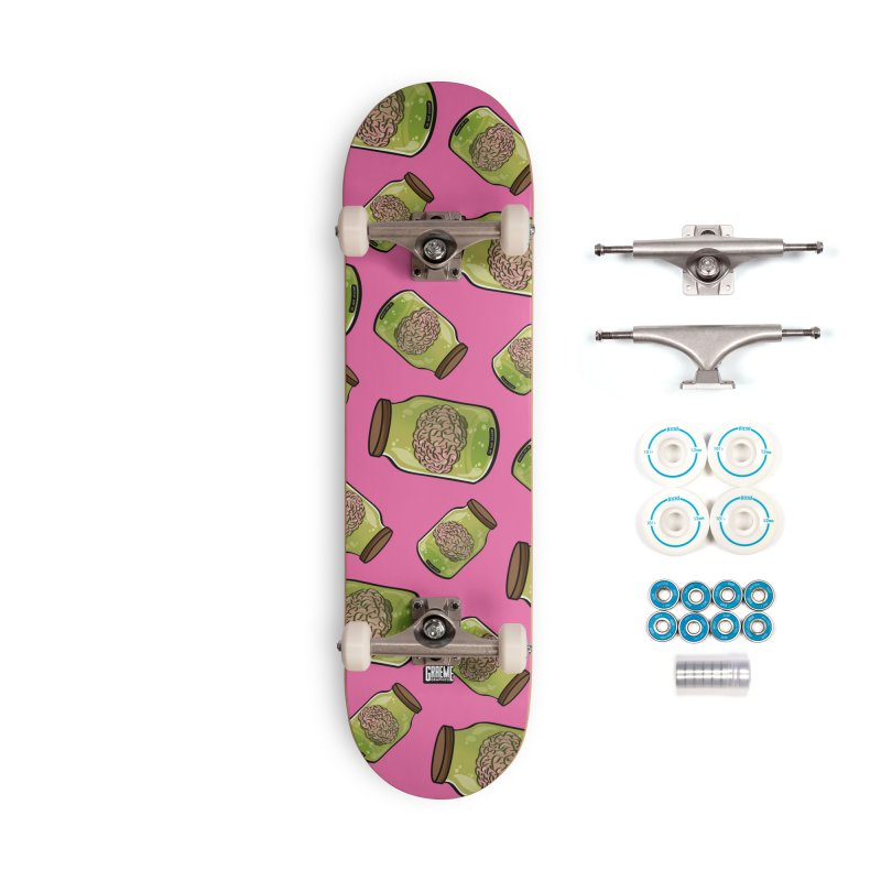 Do Not Shake! Accessories Complete - Basic Skateboard by Graeme Voigt
