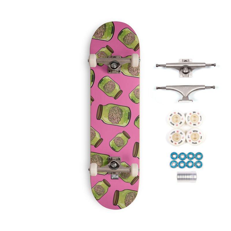 Do Not Shake! Accessories Complete - Premium Skateboard by Graeme Voigt