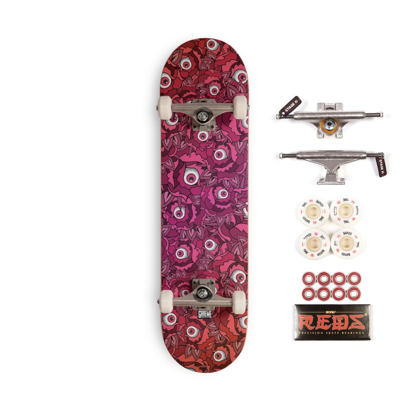 Paranoia In Bloom Accessories Complete - Pro Skateboard by Graeme Voigt