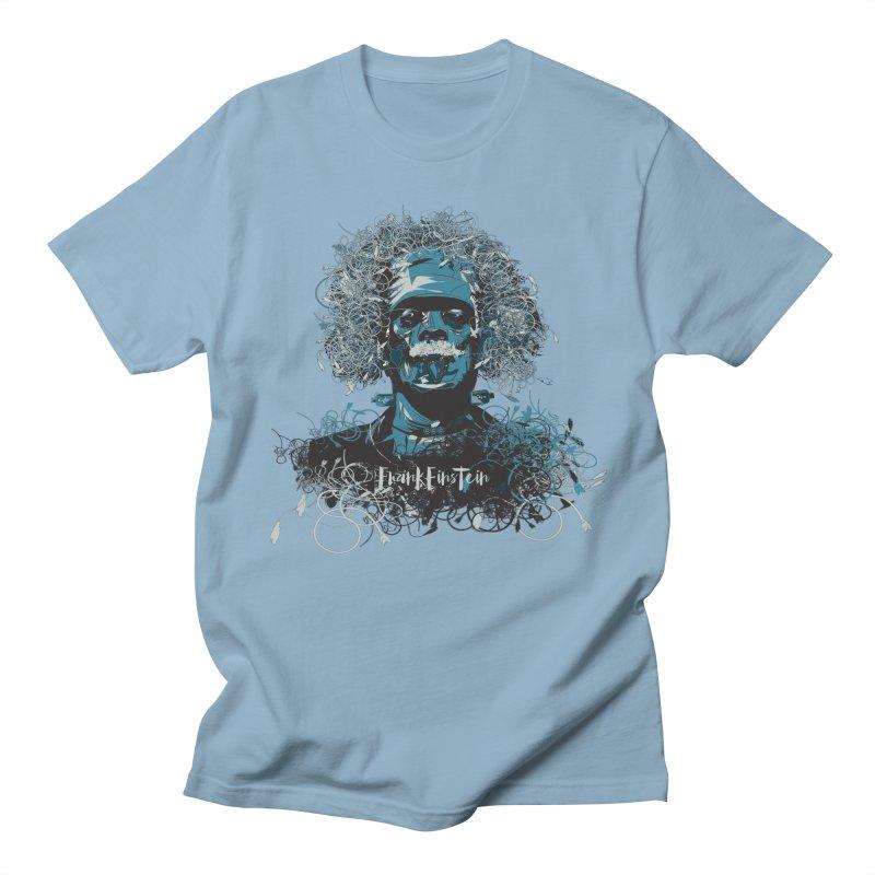 Frank Einstein Men's T-Shirt by grafismo's Artist Shop