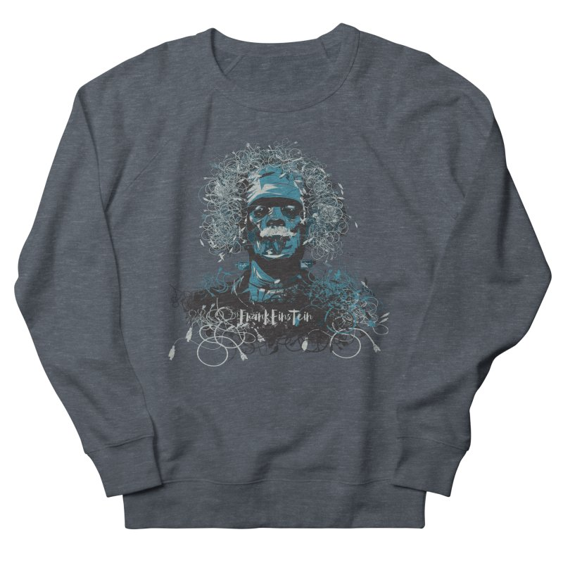 Frank Einstein Men's Sweatshirt by grafismo's Artist Shop