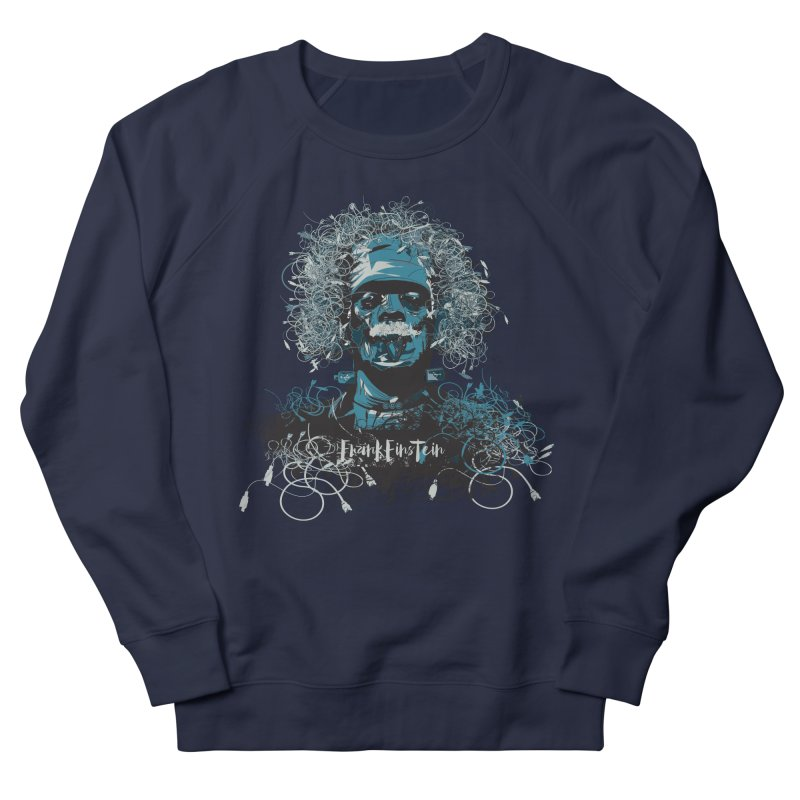 Frank Einstein Men's Sweatshirt by grafismo's Artist Shop