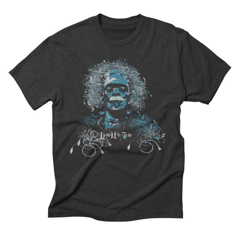 Frank Einstein Men's Triblend T-Shirt by grafismo's Artist Shop