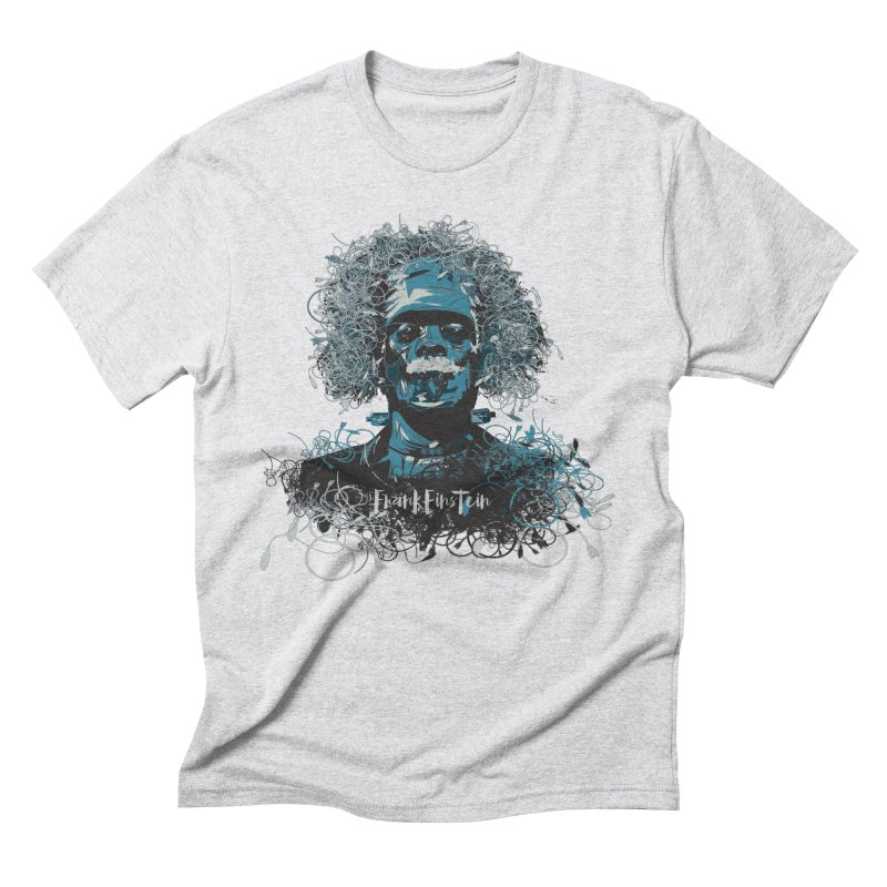 Frank Einstein Men's Triblend T-Shirt by grafismo's Artist Shop