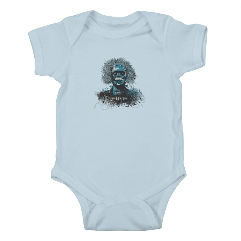 Frank Einstein Kids Baby Bodysuit by grafismo's Artist Shop