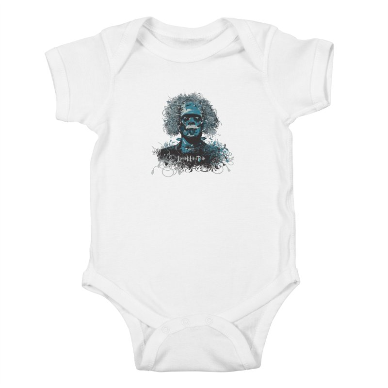 Frank Einstein Kids Baby Bodysuit by grafismo's Artist Shop