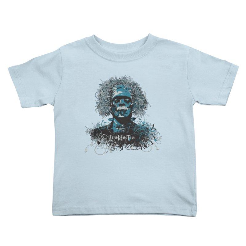 Frank Einstein Kids Toddler T-Shirt by grafismo's Artist Shop
